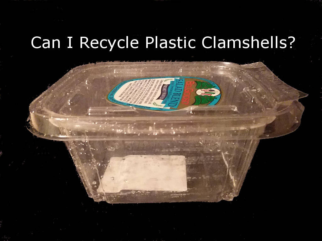 Plastic clamshell packaging.