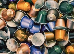 Coffee pods, capsules, K-cups